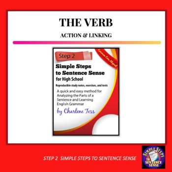 Step Two Finding The Verb Simple Steps to Sentence Sense
