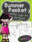 Summer Packet {Step Up To First Grade Phonics & Writing Activities}