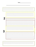 Step Up To Writing Paragraph Outline