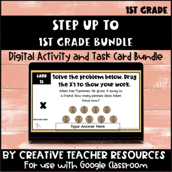 Step Up to 1st Grade Task Cards