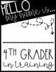 Step Up to Fourth Grade Editable Interview Pack