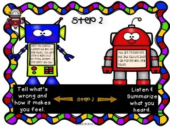Conflict Resolution Small Group or Classroom Lesson for 3rd-5th Grade
