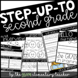 Step Up to Second Grade Editable Interview Pack