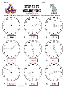 Step Up to Telling Time