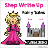 Step Write Up - Fairy Tales Write the Room {Math & Literacy}
