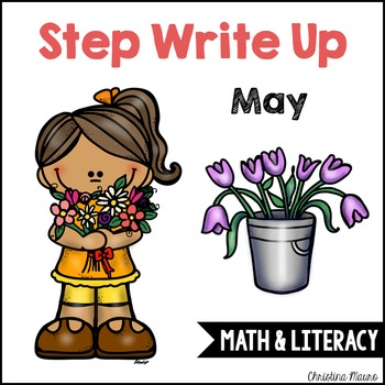 Step Write Up - May Write the Room {Math & Literacy}