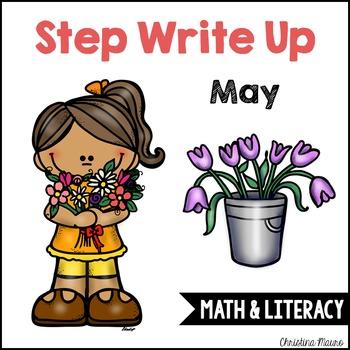 Step Write Up - May Write the Room {Math & Literacy}