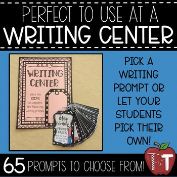 Step Writing Prompt Cards