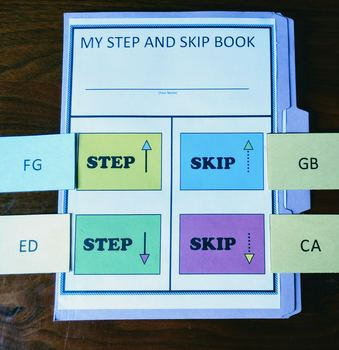 Step and Skip Piano Lap Book
