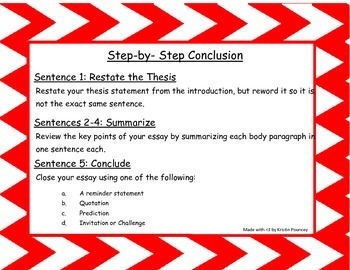 Step-by-Step Conclusion