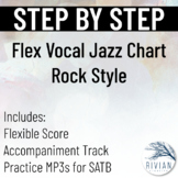 Step by Step - Flexible Jazz Choir Arrangement - Rock Tune