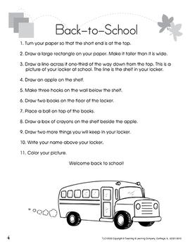Step-by-Step - Grades 1-2