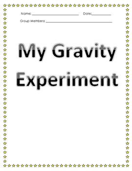 Step-by-Step Gravity Experiment