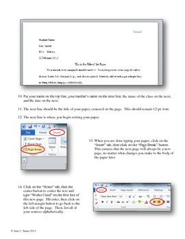Step-by-Step Guide for MLA-Style Papers in Word 2010 & Newer