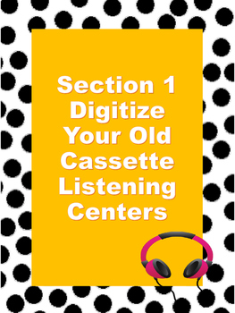 Step by Step Guide to Create Your Own Listening Centers
