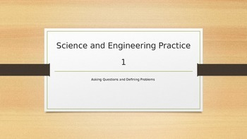 Step by Step Guide to NGSS 6-8 Science and Engineering Practice 1