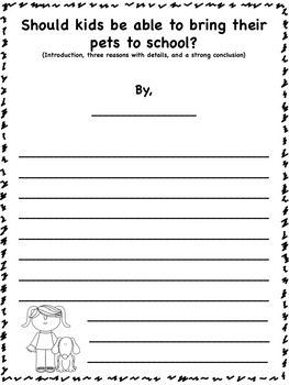 Step by Step Guide to Opinion Writing