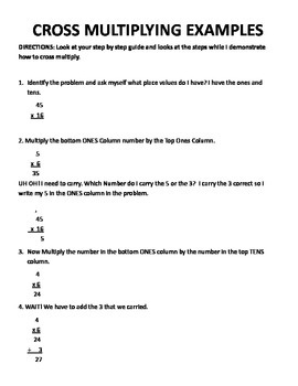 Step by Step Guide to cross Multiplying