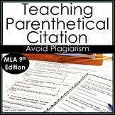 Summarize Quote Create Parenthetical Citations for Research  MLA