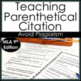 Summarize Quote Create Parenthetical Citations for Research  MLA