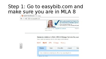 Step by Step How to Create Citations Using Easybib