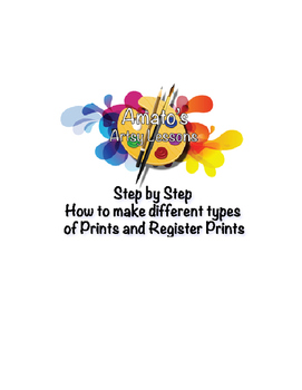 Step by Step How to Create Different Prints