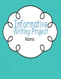 Step-by-Step Informational Writing Packet- (3rd-6th Grade)