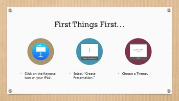 Step by Step Instructions on How to Create a Keynote Presentation