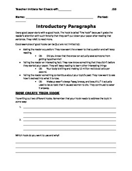 Step by Step Intro (Expository Writing)