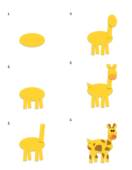 Step by Step Jungle Animals