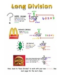 Step-by-Step Long Division Helper (Does McDonalds Sell Cheeseburgers)