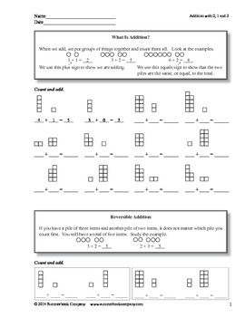 Step-by-Step Math: Addition and Subtraction Facts
