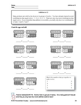Step-by-Step Math: Addition and Subtraction Facts Part 8