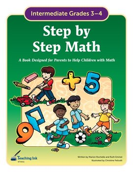 Step by Step Math (Grades 3-4) by Teaching Ink
