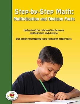 Step-by-Step Math: Multiplication and Division Facts Part 8