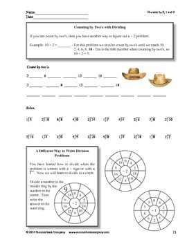 Step-by-Step Math: Multiplication and Division Facts Part 1