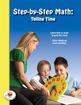 Step-by-Step Math: Telling Time (Part 3 - :20 and :25)