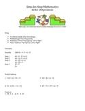 Step by Step Mathematics - Bundle - 10 Lessons