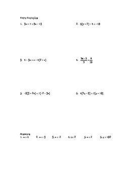 Step by Step Mathematics - Solving Multi Step Equations