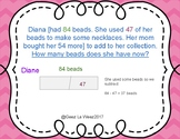 Step by Step Mult- Step Addition and Subtraction Word Problems