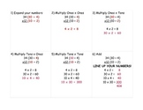 Step by Step Multiplication