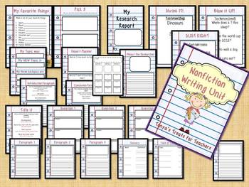 Step by Step Nonfiction Writing Unit