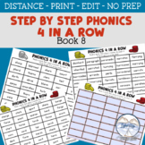 Step by Step Phonics 4 In a Row Book 8