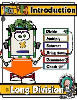 Step-by-Step ROBOTS' INTRODUCTION to LONG DIVISION