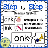 Wilson Reading System Keyword Puzzles for Steps 1-6