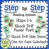 Reading System Steps 1-6 Quick Drill PowerPoint  for SMARTboard