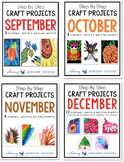Step by Step Seasonal Crafts BUNDLE (Sept to Dec)