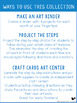Step by Step Seasonal Crafts BUNDLE (Sept to Dec)