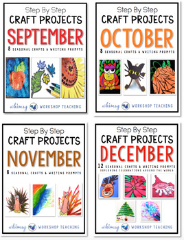Step by Step Seasonal Crafts BUNDLE 1 (Sept to Dec)