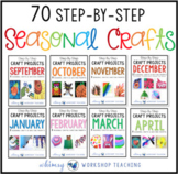 Step by Step Seasonal Crafts Full Year MEGA BUNDLE